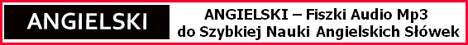 ANGIELSKI FISZKI MP3 - Szybka Nauka Słówek